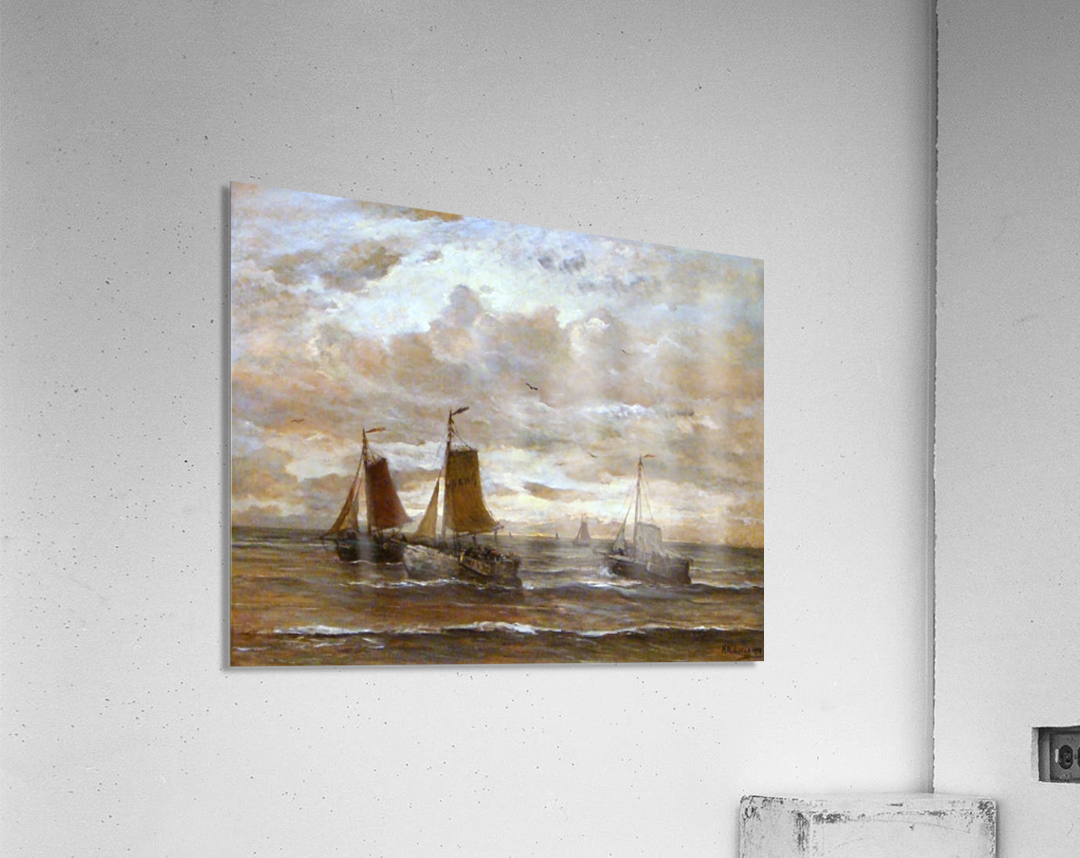Zonsondergang  Acrylic Print