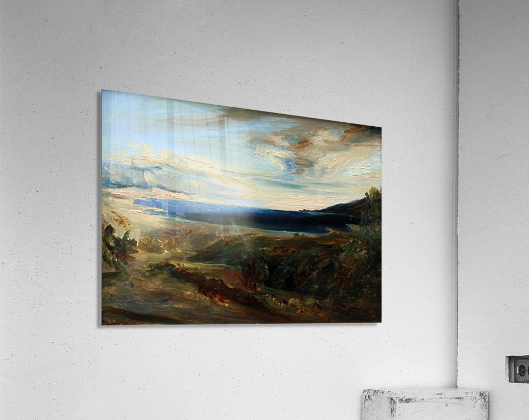 Meeresbucht in Italien  Acrylic Print