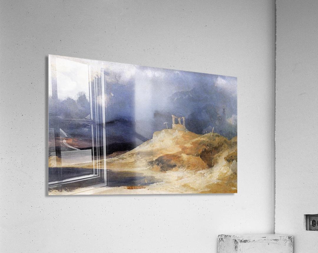 Galgenberg bei Gewitterstimmung  Acrylic Print