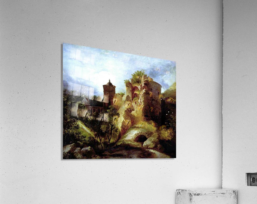 A deserted castle  Acrylic Print
