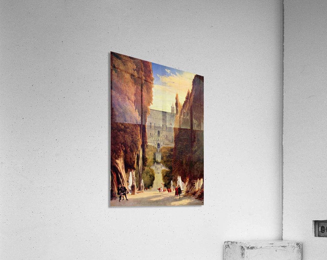 Im Park der Villa d'Este  Acrylic Print