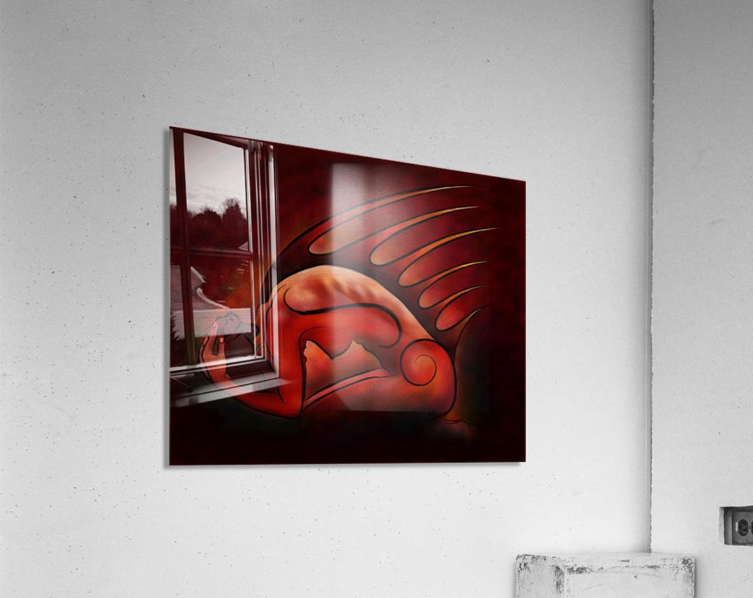 Hessanisa V1 - the martian lady  Acrylic Print