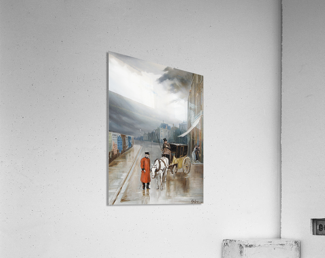 After rain - Chelsea  Acrylic Print