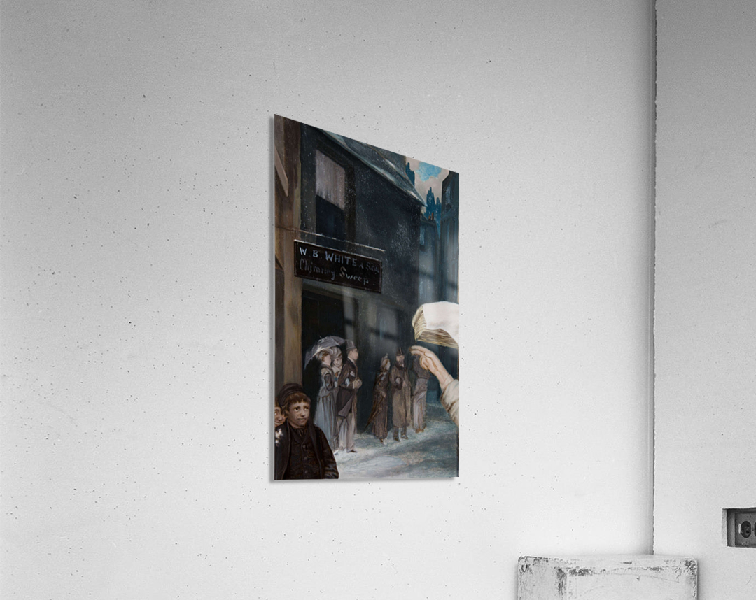 The Chimney Sweep Store  Acrylic Print