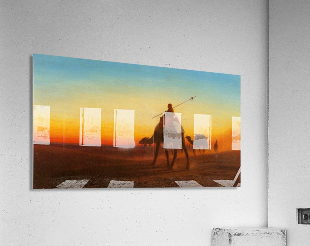 Caravanne au Couche-Sol  Acrylic Print
