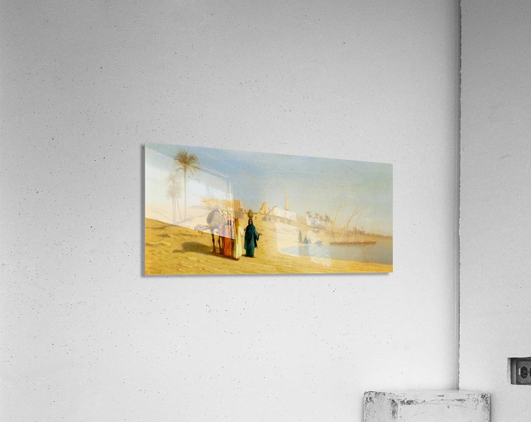 The Banks of the Nile  Acrylic Print