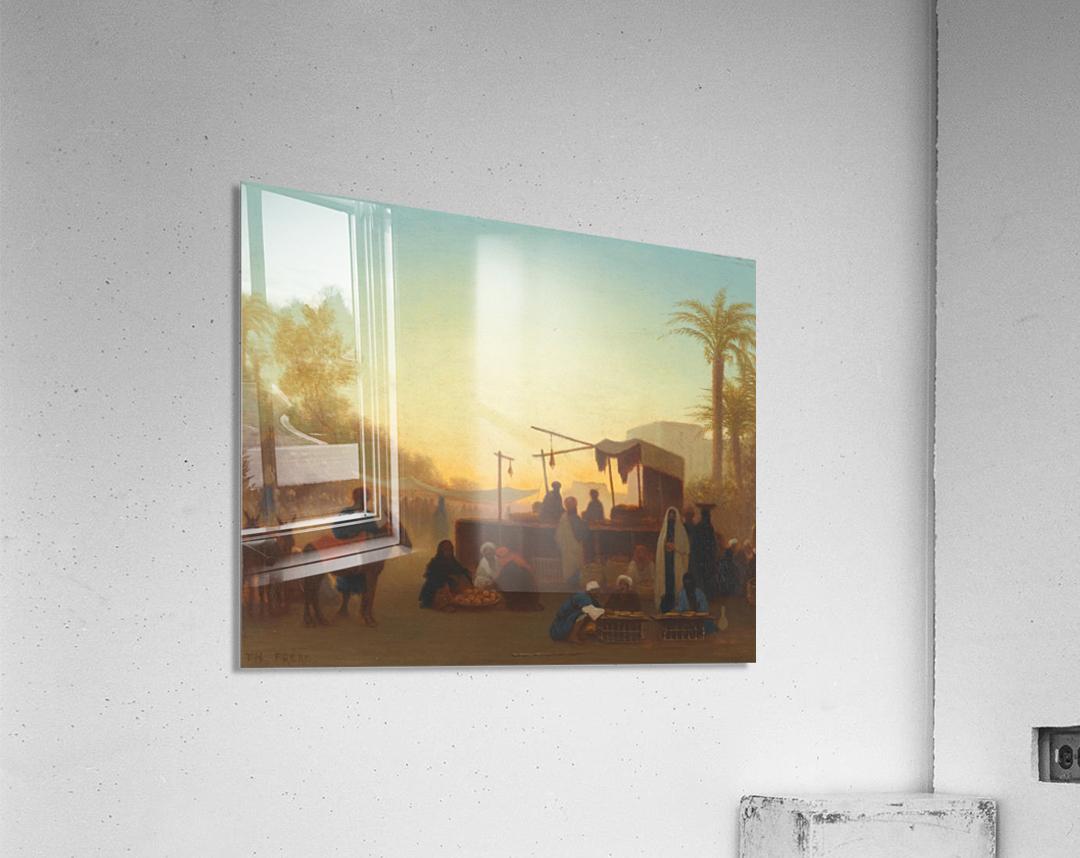 Marche au Caire  Acrylic Print