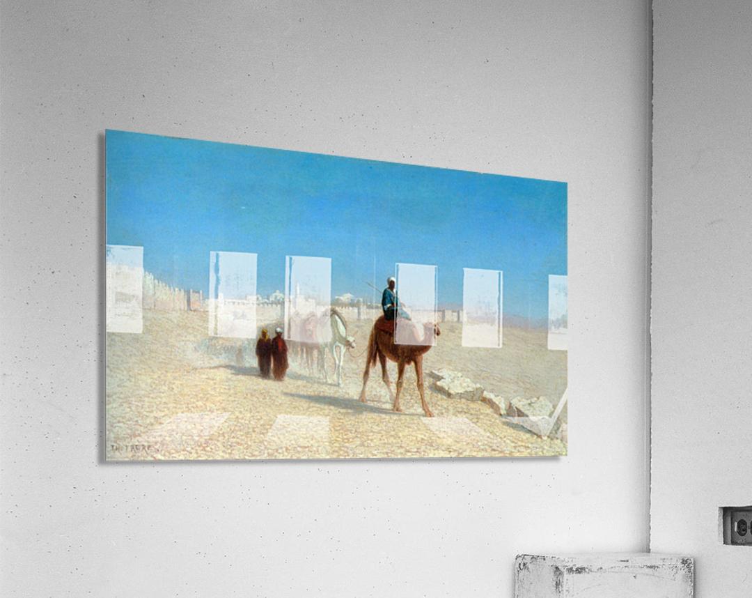 Jerusalem Cote de la Porte de Jaffe  Acrylic Print