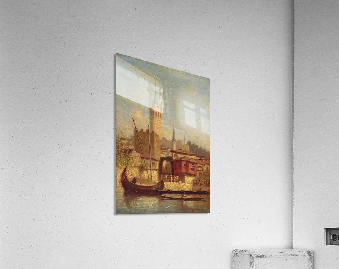 The Galata Tower, Constantinople  Acrylic Print