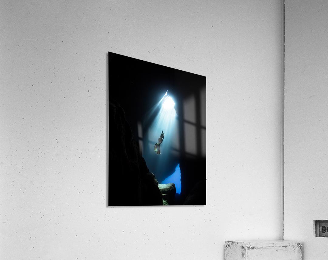 dark cave ver  Acrylic Print