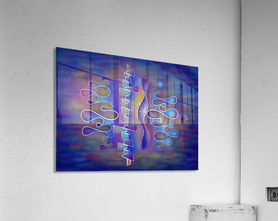 Grafenonci V5 - abstract butterfly  Acrylic Print