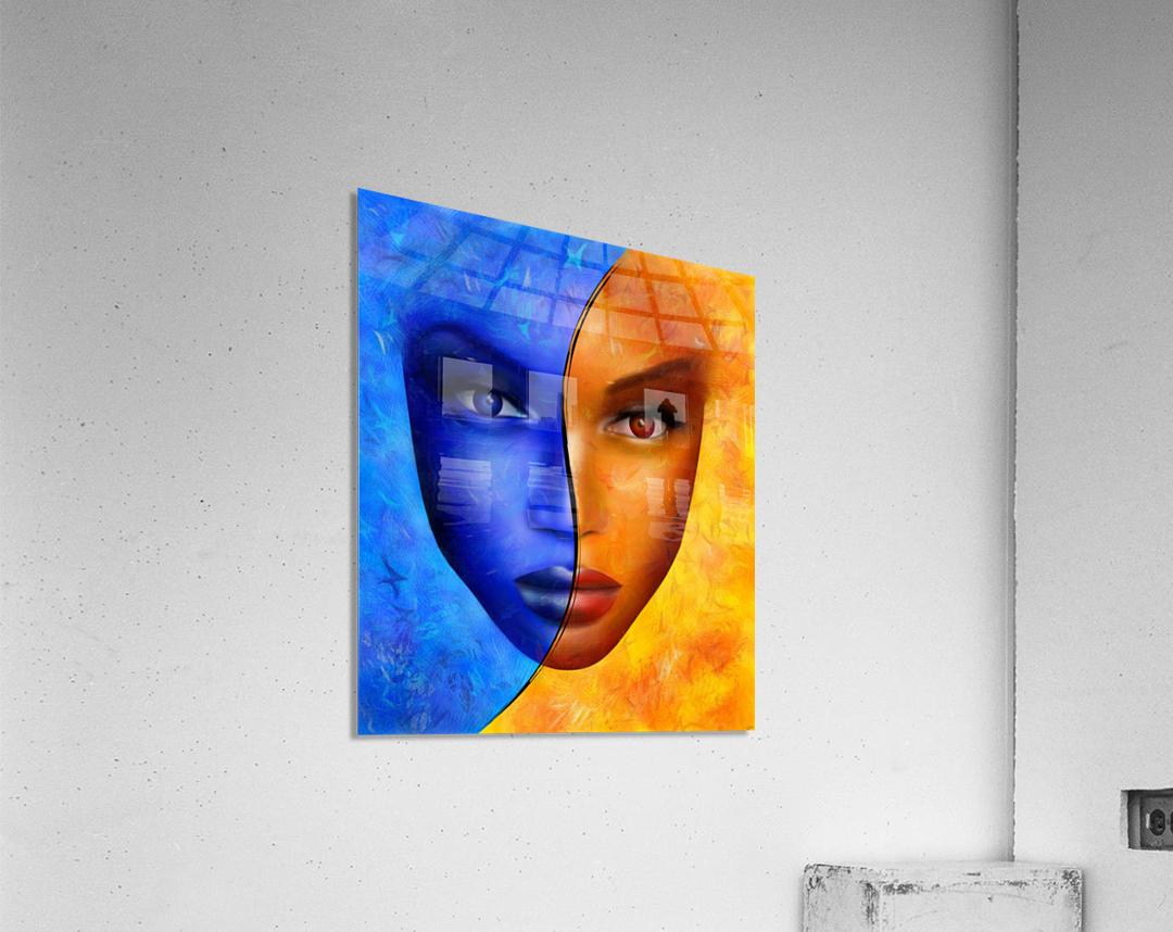 Frescanilla - the mirage  Acrylic Print