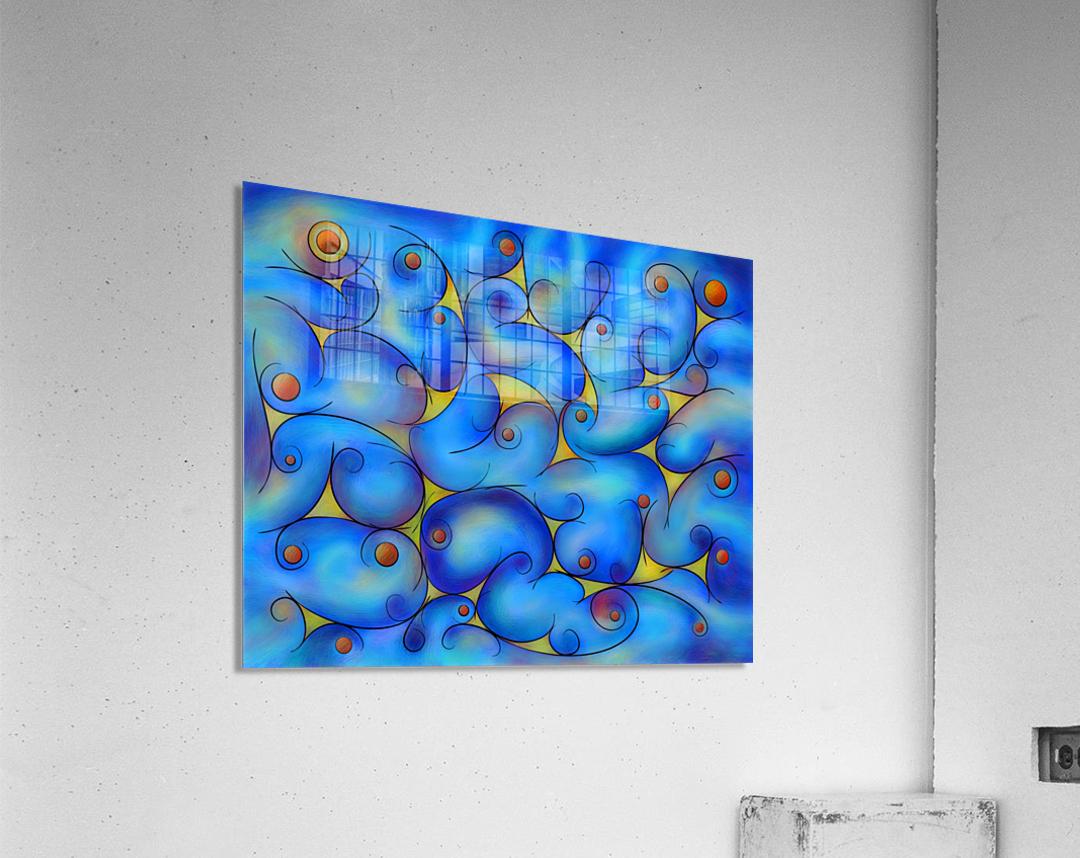 Supliussa - Milky way  Acrylic Print