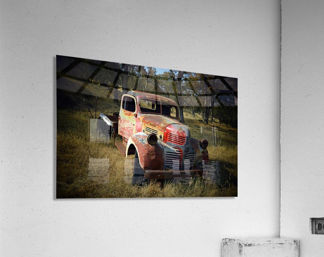 Abandoned Dodge Truck  Acrylic Print