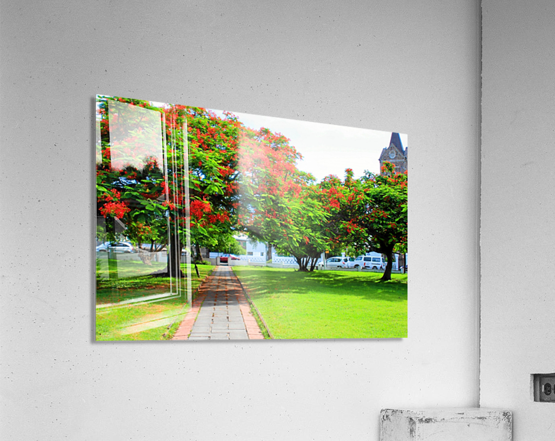 St Kitts Independence Square5  Acrylic Print
