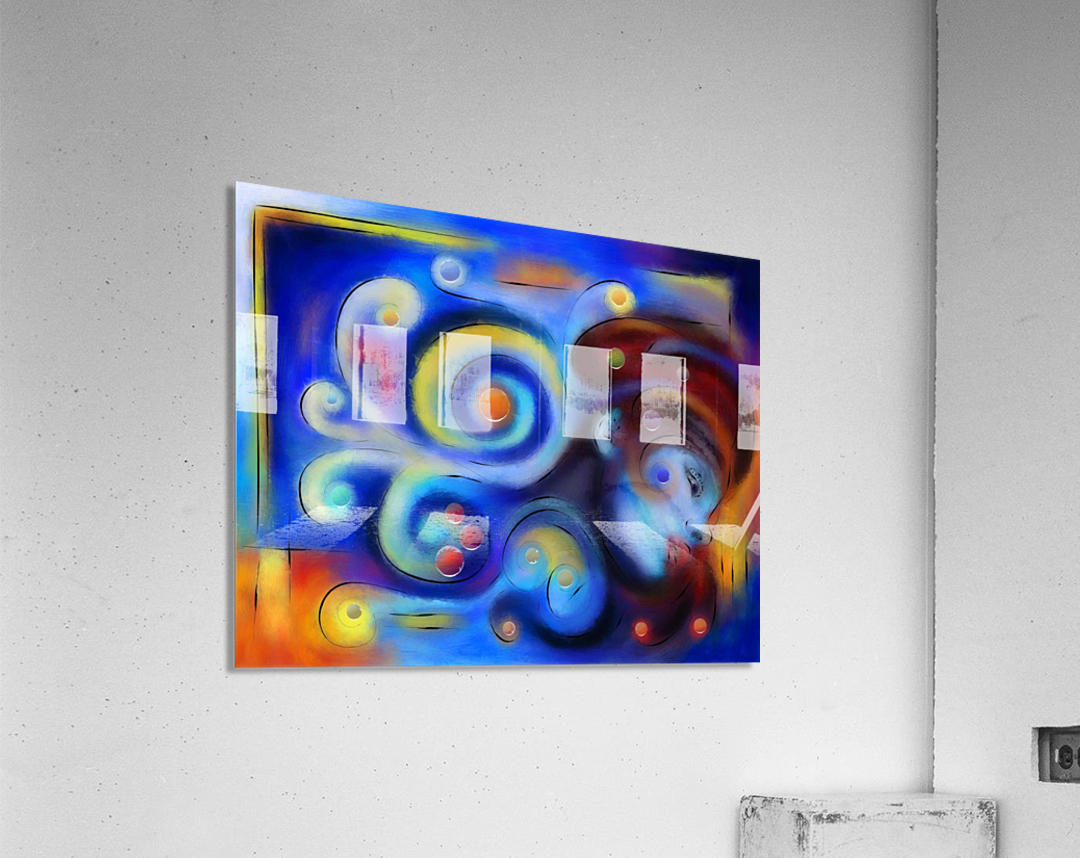 Escanillium - butterfly lady  Acrylic Print