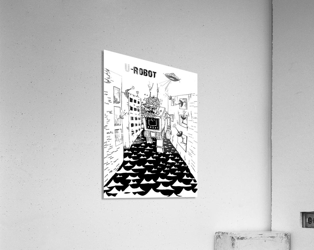 struggle  Acrylic Print