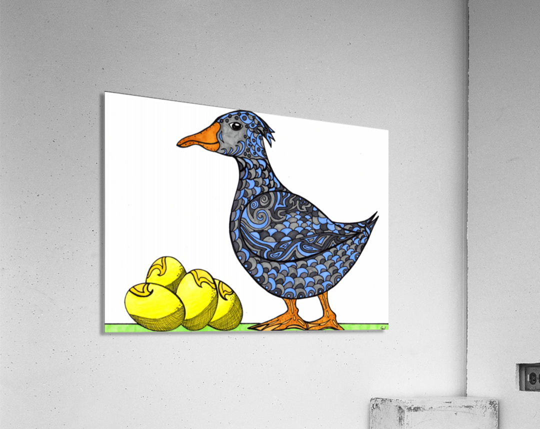 Goose and Golden Eggs  Acrylic Print