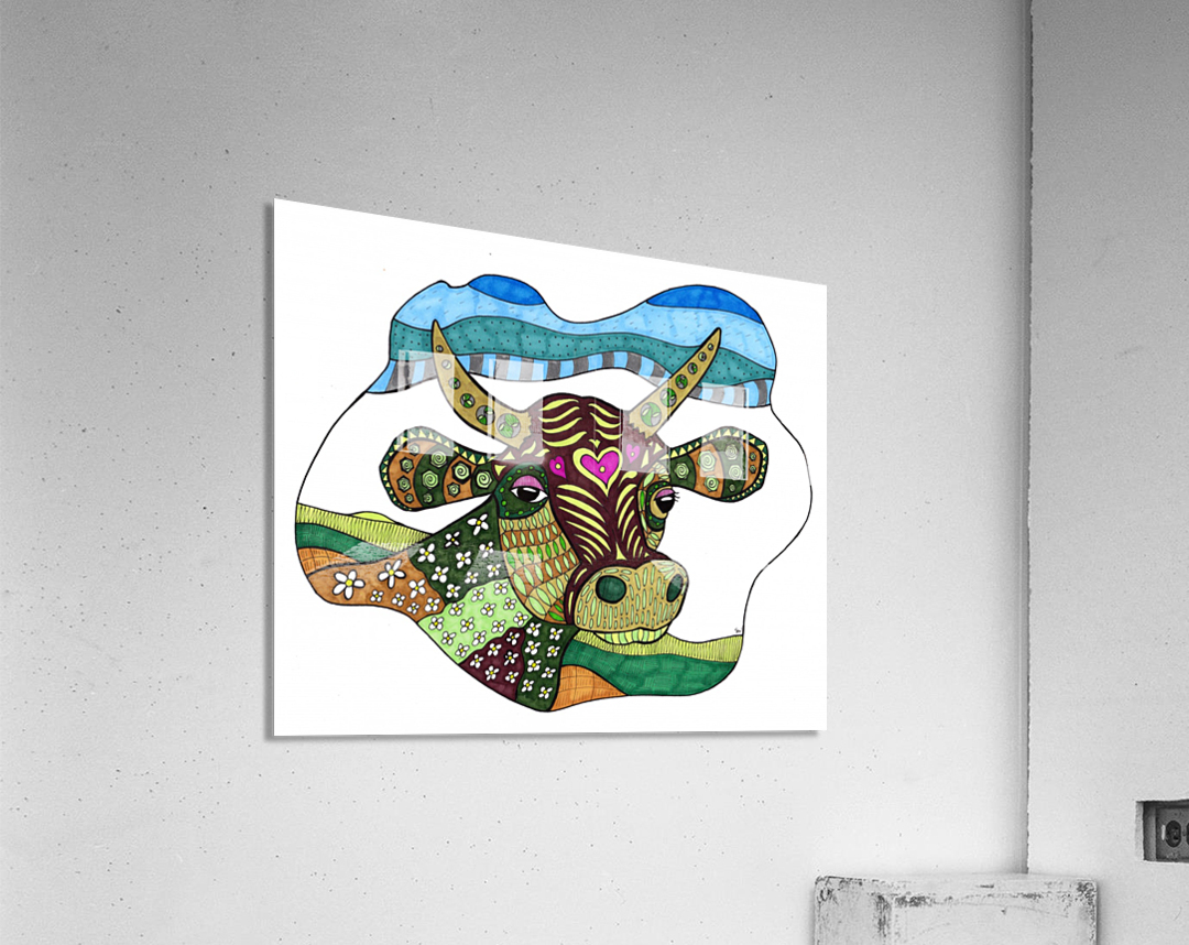 Elsie Cow  Acrylic Print