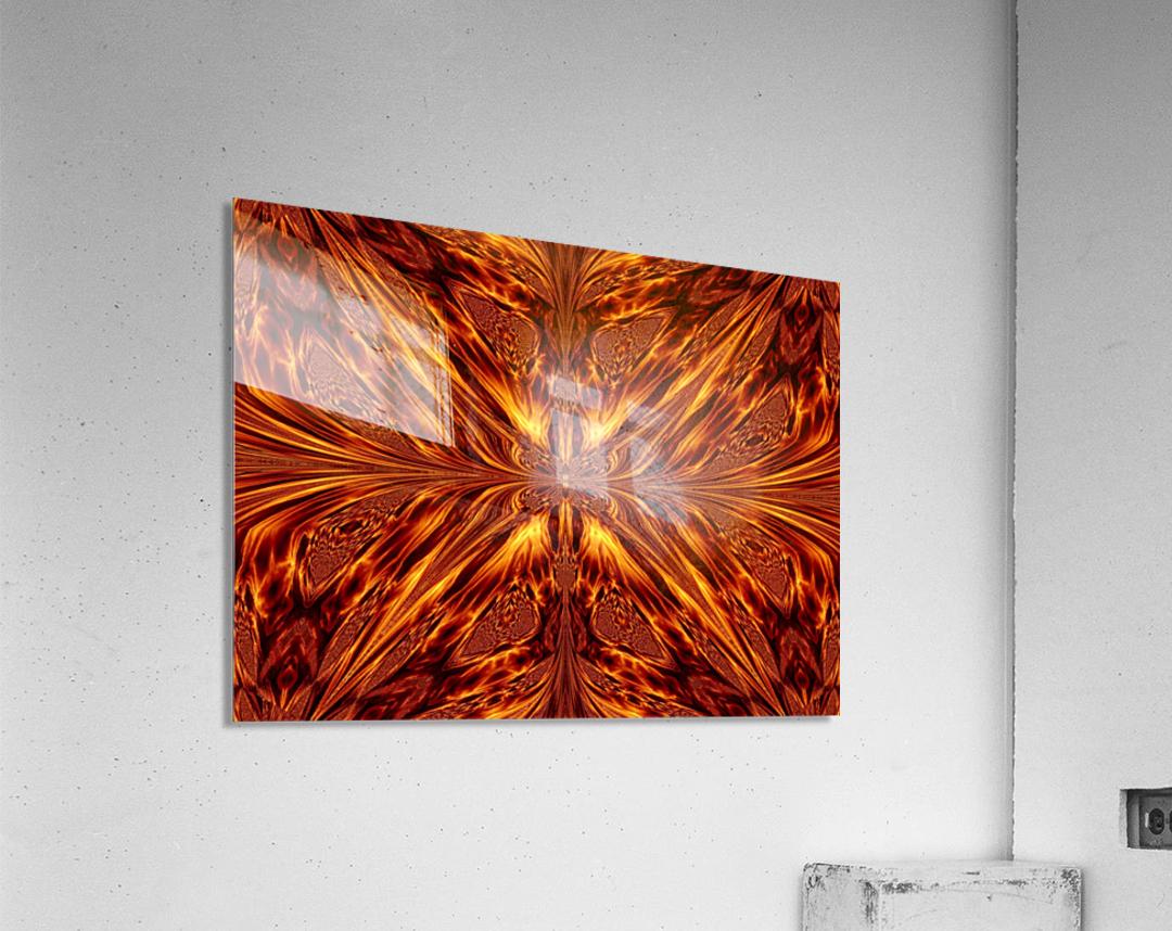 Fire Butterfly   Acrylic Print