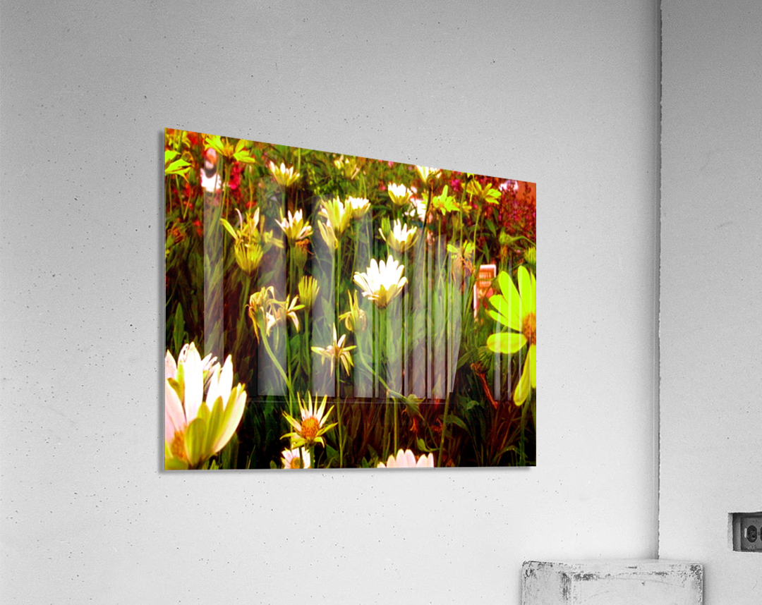 forest of flowers  Acrylic Print