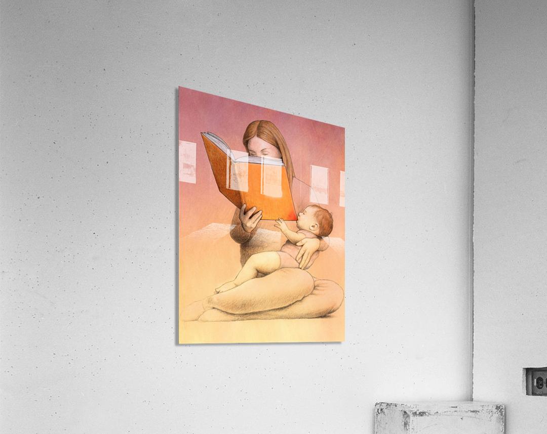 eating time  Acrylic Print