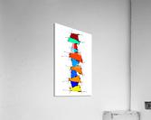 Sanomessia - melting cubes  Acrylic Print