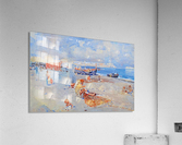 Beach of Mergellina  Acrylic Print