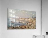 Marina di Napoli  Acrylic Print