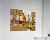 Street in Paris during Flood of 1910  Acrylic Print