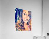 EM- Female pic art model  Acrylic Print