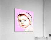 Cute Baby Pic Art  Acrylic Print