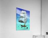 Journey with sharks  Acrylic Print