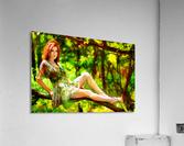 TREEgirl2  Acrylic Print