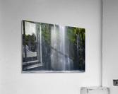 Magical retreat  Impression acrylique
