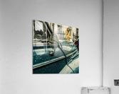 London Rain  Acrylic Print