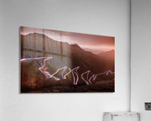 Winding light  Acrylic Print