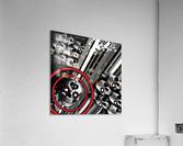 hoodtest_max  Acrylic Print