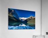 Lake Louise Dock  Acrylic Print
