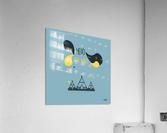 MAISON D INDIEN  Acrylic Print