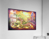 The dragons of the Great Wall  Acrylic Print