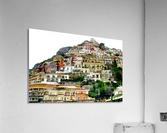 Positano Village in Amalfi Coast - Italy  Acrylic Print