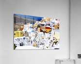 Colours of Santorini  Acrylic Print