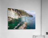 Amalfi Coast - Conca dei Marini Beach - Italy  Acrylic Print