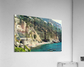 Amalfi Coast Beach - Italy  Acrylic Print