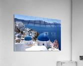 Amazing Santorini Landscape   Acrylic Print