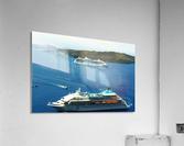 The Cruise Ship in the Blue Ocean  Acrylic Print