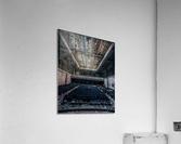 Decaying Blue Auditorium  Acrylic Print
