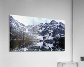 Mountains in the Lake  Acrylic Print