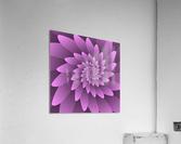 3D Floral Modern Artwork  Acrylic Print